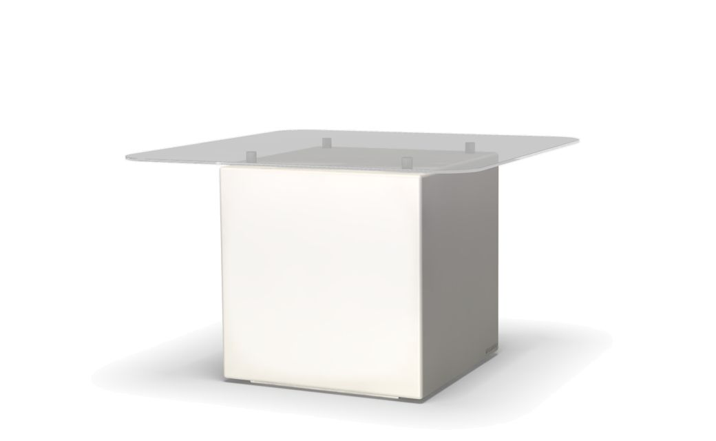 mBox Lightning Table Top Glass
